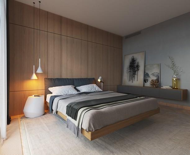 Phòng ngủ trang trí tối giản mà vẫn đẹp hiện đại - Ảnh 8.