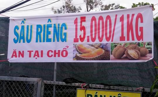 """Thực hư về """"sầu riêng ăn trả hạt giá 15.000 đồng/kg - Ảnh 1."""