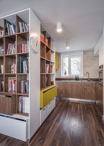 Cách trang trí nhẹ nhàng, hấp dẫn trong căn hộ chung cư 1 phòng ngủ - Ảnh 6.