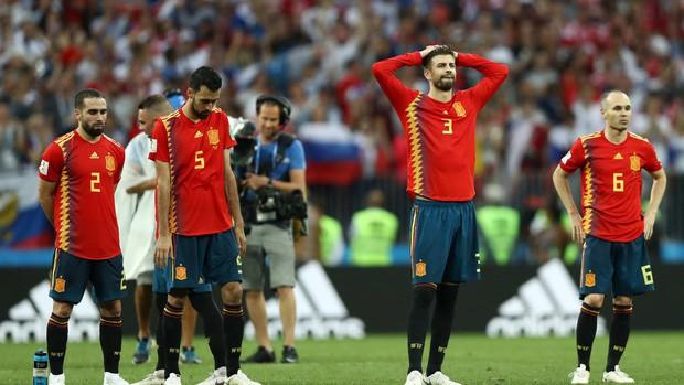 Dàn sao Tây Ban Nha sụp đổ, bật khóc tức tưởi sau khi chia tay World Cup 2018 - Ảnh 7.