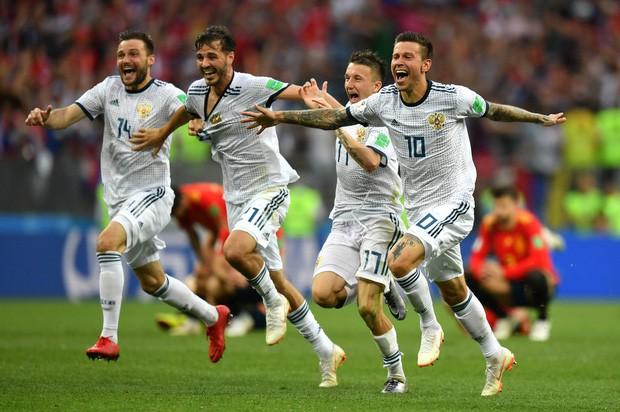 Tột cùng vui sướng, người Nga mơ về ngôi vô địch World Cup 2018 - Ảnh 9.