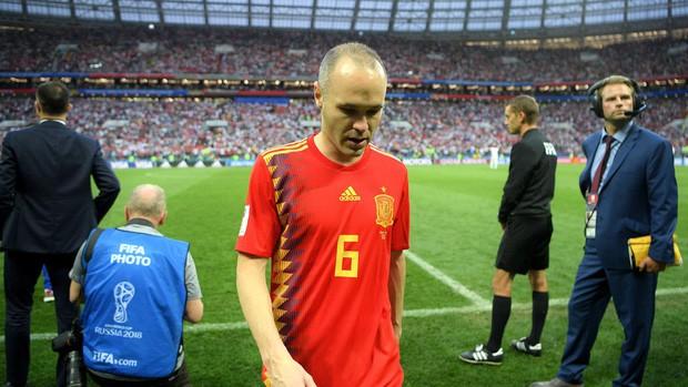 Dàn sao Tây Ban Nha sụp đổ, bật khóc tức tưởi sau khi chia tay World Cup 2018 - Ảnh 9.