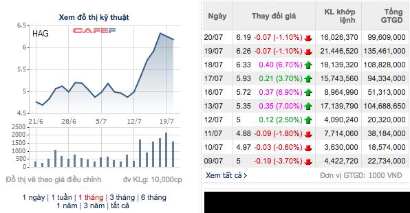 Dù HAGL tăng mạnh, bầu Đức vẫn bị bán giải chấp 3,8 triệu cổ phiếu - Ảnh 1.