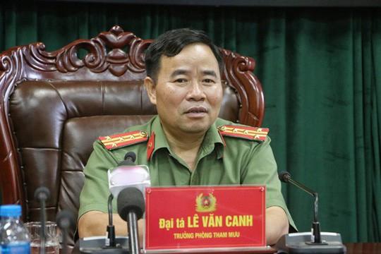 Công an Hà Giang lên tiếng về việc khởi tố, bắt tạm giam ông Vũ Trọng Lương - Ảnh 2.
