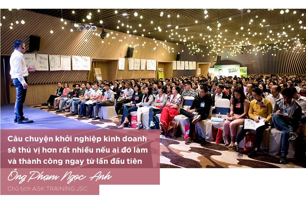 Mr Why Phạm Ngọc Anh và dự án kết nối 50.000 doanh nhân tiên phong mang tên Wake Up Việt Nam - Ảnh 6.