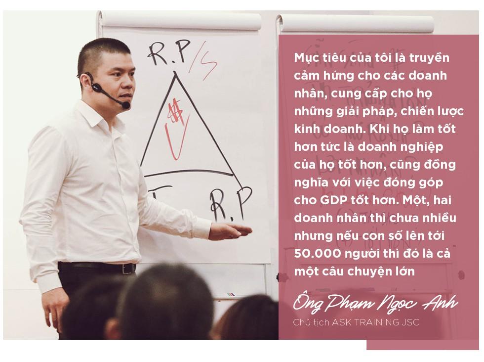Mr Why Phạm Ngọc Anh và dự án kết nối 50.000 doanh nhân tiên phong mang tên Wake Up Việt Nam - Ảnh 9.