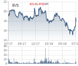 Lỗ lớn từ hoạt động đầu tư, lợi nhuận quý 2 của Chứng khoán Bảo Việt (BVS) giảm 25% - Ảnh 1.