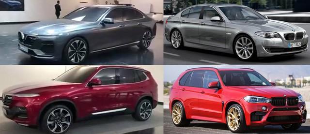 Xe VINFAST: Sedan dài như Audi A6, SUV to như BMW X5 - Ảnh 1.