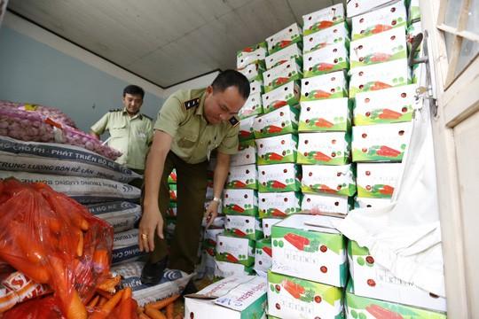 Tịch thu gần 4 tấn cà rốt Trung Quốc nhập lậu - Ảnh 1.