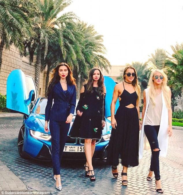 Cuộc sống của chân dài Hội nhà giàu Dubai: Xa hoa, nhiều siêu xe vây quanh nhất Dubai - Ảnh 11.