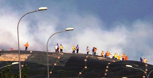 Giám đốc Sở Tài nguyên TP.HCM: Do biến đổi khí hậu nên bãi rác Đa Phước có mùi hôi thối - Ảnh 1.