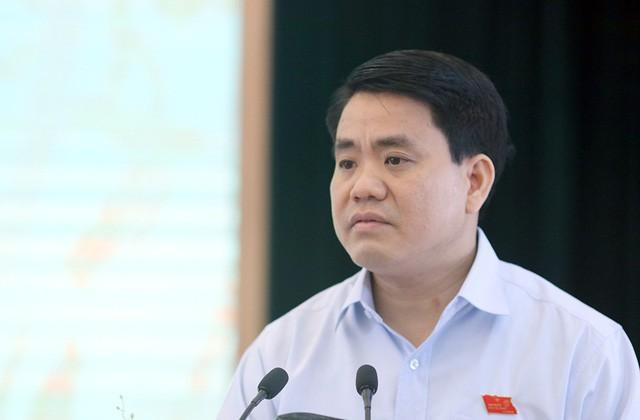 Tướng Đào Thanh Hải: Tàu cảnh sát đường thủy cạnh tàu cát tặc không phải của Hà Nội - Ảnh 2.