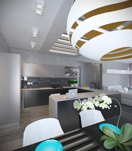 Căn hộ 2 phòng ngủ được xử lý màu sắc khéo léo - Ảnh 3.