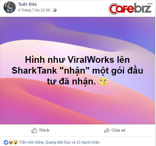 Cộng đồng startup rộ nghi vấn làm game trên Shark Tank: Số liệu tài chính không rõ mà 5 Shark đã tranh nhau rót tiền, đại diện pháp luật ViralWorks lại là gương mặt rất quen - Ảnh 4.