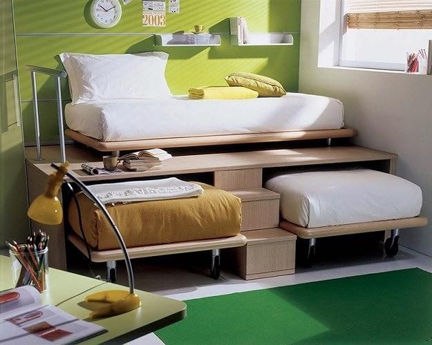 Ý tưởng thiết kế tuyệt vời cho phòng ngủ nhỏ hẹp - Ảnh 2.