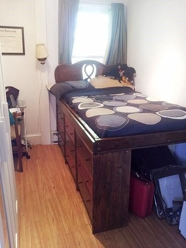 Ý tưởng thiết kế tuyệt vời cho phòng ngủ nhỏ hẹp - Ảnh 15.