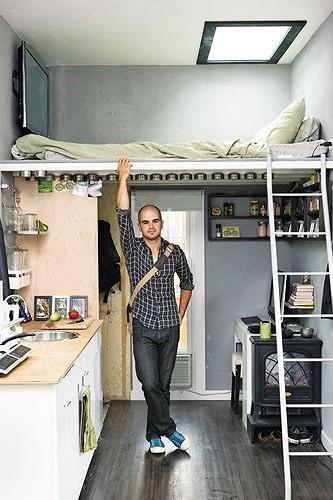 Ý tưởng thiết kế tuyệt vời cho phòng ngủ nhỏ hẹp - Ảnh 4.