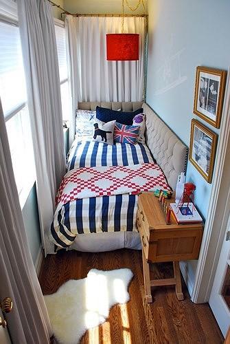 Ý tưởng thiết kế tuyệt vời cho phòng ngủ nhỏ hẹp - Ảnh 5.