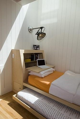 Ý tưởng thiết kế tuyệt vời cho phòng ngủ nhỏ hẹp - Ảnh 6.