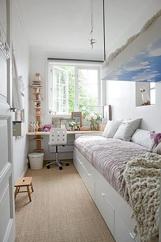 Ý tưởng thiết kế tuyệt vời cho phòng ngủ nhỏ hẹp - Ảnh 9.