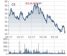 CII: Nửa đầu năm lãi ròng giảm sốc hơn 45 lần về 35 tỷ đồng, chỉ thực hiện vỏn vẹn 3% kế hoạch - Ảnh 1.