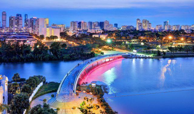 Cuộc chiến bất động sản cao cấp Nam Sài Gòn tăng nhiệt - Ảnh 1.