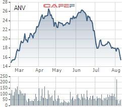 ANV giảm sâu, Chủ tịch Công ty Nam Việt đã tranh thủ mua thêm 2 triệu cổ phiếu - Ảnh 1.