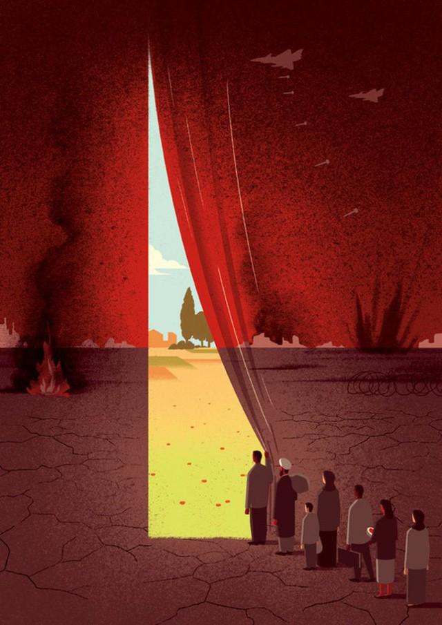 Những bức biếm họa sâu cay về cuộc sống hiện đại khiến ai cũng phải giật mình - Ảnh 11.