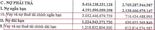Tập đoàn Sao Mai (ASM): Nửa đầu năm lãi đột biến 18 lần lên 864 tỷ, nợ vay cũng đột biến hơn 3 lần 4.271 tỷ đồng - Ảnh 2.