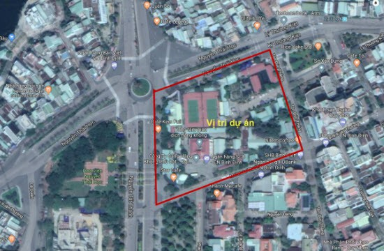 Bình Định tìm nhà đầu tư cho dự án trên đất vàng 4 mặt tiền trung tâm đô thị Quy Nhơn - Ảnh 1.