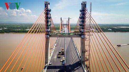 Cầu Bạch Đằng và những kỷ lục, công nghệ mới - Ảnh 1.