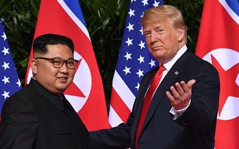 Tổng thống Trump nhận thư mới của lãnh đạo Triều Tiên Kim Jong Un - Ảnh 1.