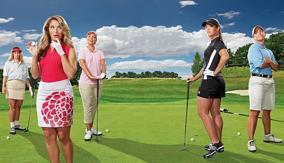 7 điều thay đổi để phái đẹp đến với golf nhiều hơn - Ảnh 1.