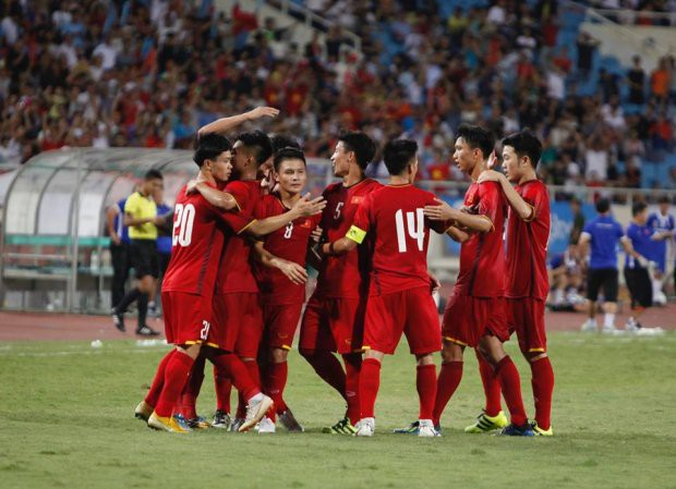 Hạ Palestine, VFF thưởng nóng 400 triệu cho U23 Việt Nam - Ảnh 1.