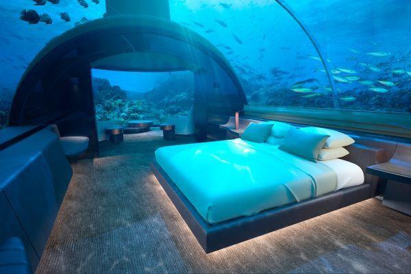 Có gì bên trong khách sạn dưới nước đầu tiên trên thế giới sắp mở cửa tại thiên đường Maldives?  - Ảnh 1.