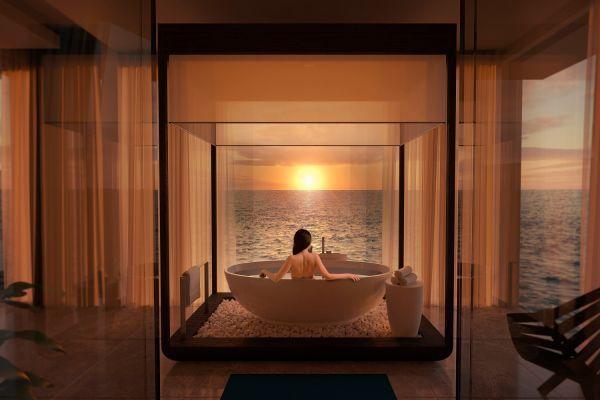 Có gì bên trong khách sạn dưới nước đầu tiên trên thế giới sắp mở cửa tại thiên đường Maldives?  - Ảnh 2.