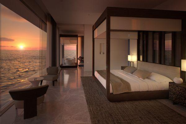 Có gì bên trong khách sạn dưới nước đầu tiên trên thế giới sắp mở cửa tại thiên đường Maldives?  - Ảnh 3.