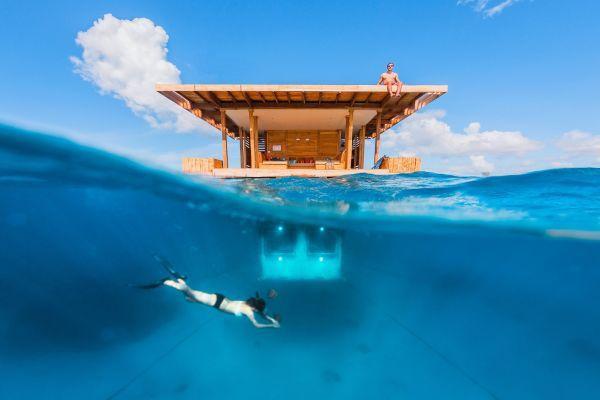Có gì bên trong khách sạn dưới nước đầu tiên trên thế giới sắp mở cửa tại thiên đường Maldives?  - Ảnh 5.
