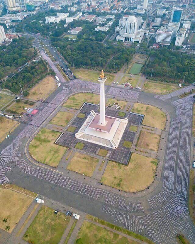 Indonesia thiết lập kỷ lục guiness khi tổ chức khai mạc Asiad - Ảnh 7.