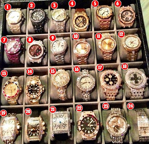 Chiếc đồng hồ trị giá 18 triệu USD của võ sĩ quyền anh hay nhất mọi thời đại - Floyd Mayweather: Quá mức xa xỉ và lộng lẫy - Ảnh 4.