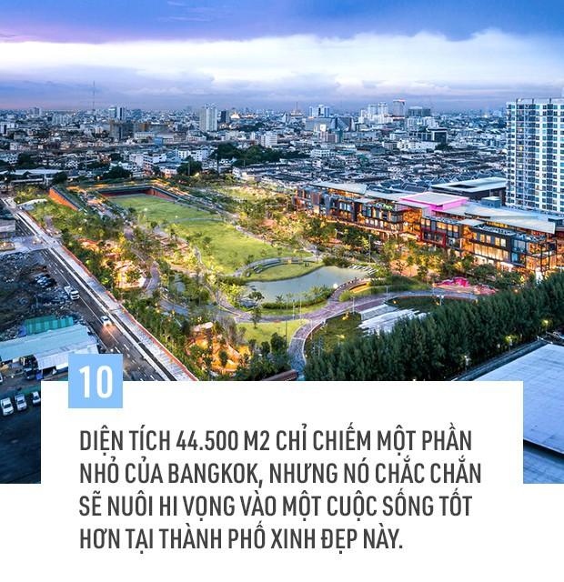 Bangkok đang chìm dần vào lòng biển cả, và đây là dự án vô cùng sáng tạo của người Thái giúp cho thủ đô thoát khỏi nạn úng ngập - Ảnh 9.