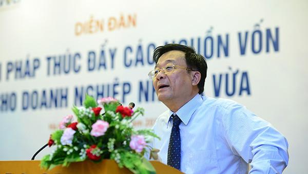 Ông Vũ Tiến Lộc: Vui vì vốn cho DNNVV chuyển từ may sẵn sang may đo - Ảnh 3.