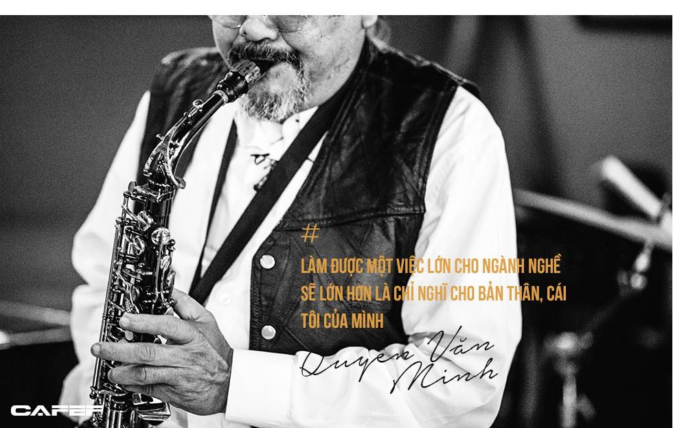 """Saxophone Quyền Văn Minh: Từ cậu thiếu niên học Jazz bằng băng cassette đến """"Huyền thoại sống Jazz Việt Nam"""" - Ảnh 7."""