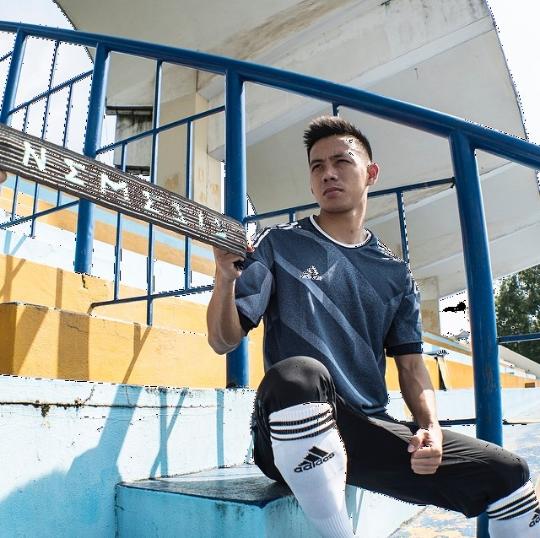 Tiền đạo Văn Quyết - người ghi bàn thắng tung lưới Olympic UAE già thứ nhì đội tuyển, là anh rể tương lai của Duy Mạnh - Ảnh 13.