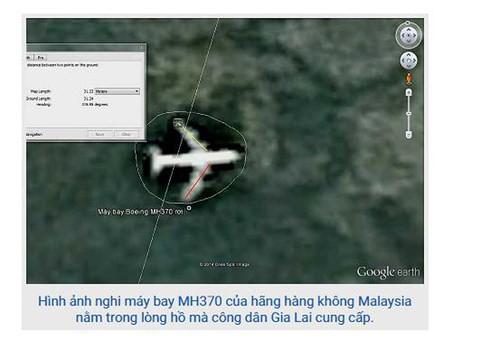 Gia Lai báo cáo điều tra vụ phát hiện vị trí máy bay MH370 - Ảnh 1.