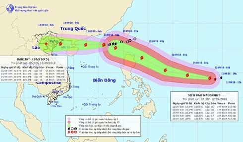 Song bão nhiệt đới chuẩn bị đổ bộ vào Trung Quốc - Ảnh 1.