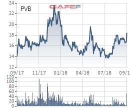 PVCoating (PVB) được chấp thuận làm nhà thầu cho dự án Nam Côn Sơn 2 và Lô B, cổ phiếu liên tiếp tăng trần - Ảnh 1.