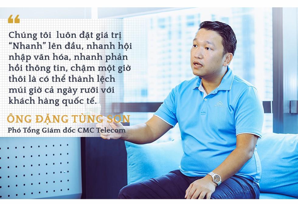 Phó Tổng Giám đốc CMC Telecom Đặng Tùng Sơn:  Trở thành nhà cung cấp dịch vụ ICT toàn cầu là tham vọng mà chúng tôi đã theo đuổi 10 năm nay - Ảnh 3.