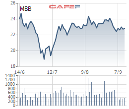 Vietcombank chào bán 53,4 triệu cổ phiếu MBB, giảm tỷ lệ sở hữu xuống dưới 5% - Ảnh 1.