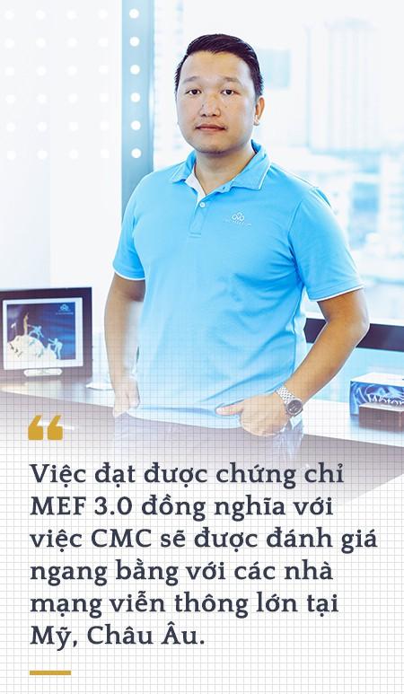 Phó Tổng Giám đốc CMC Telecom Đặng Tùng Sơn:  Trở thành nhà cung cấp dịch vụ ICT toàn cầu là tham vọng mà chúng tôi đã theo đuổi 10 năm nay - Ảnh 6.